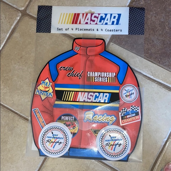 NASCAR Placemats @ Coasters